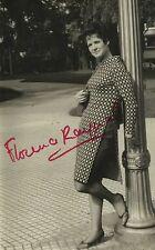 FLORENCE RAYNAL French Soprano Original Vintage HANDSIGNED Photograph