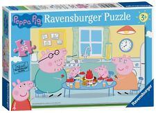 NEW! Ravensburger Peppa Pig Family Time 35 piece jigsaw puzzle Age 3+ 08628