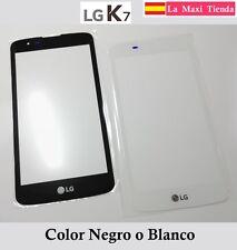 Cristal Exterior para LG K7 Negra Blanca Pantalla Tactil Vidrio Tribute 5 LS675