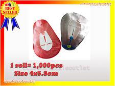 20000 PCS CHECKPOINT COMPATIBLE 4X5.8 CLEAR SOFT LABEL TAG CASE 8.2MHZ