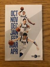BRAND NEW 2019 - 20 Dallas Mavericks Pocket Schedule Dallas Mavs Shop Fast Ship