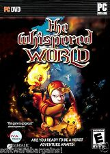 THE WHISPERED WORLD AN EPIC ADVENTURE UNFOLDS. BRAND NEW SHIPS FAST / SHIPS FREE
