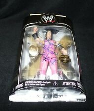 "BRET ""THE HITMAN"" HART Signed WWE Classic Super Stars Action Figure"