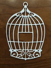 Ornamental Bird Cage 6 pcs Paper Die Cuts. Scrapbooking And Cardmaking