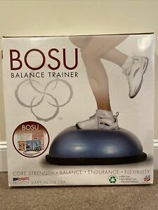 Original Bosu Balance Trainer Power Training Package New Sealed Core Strength