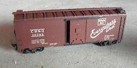 Vintage HO Scale Athearn CB&Q Burlington 35789 Boxcar