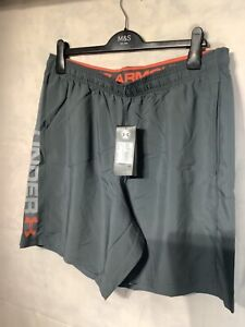 Men's under armour woven graphic shorts. New tagged gym active workout