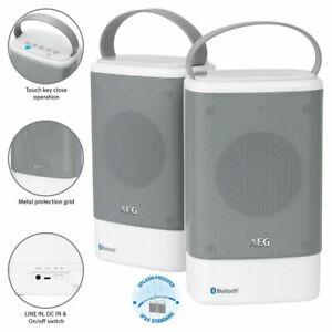 AEG Bluetooth-Lautsprecher-Set Soundsystem BSS-4833