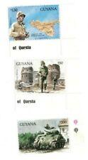 Guyana - 1993 - World War II - Set Of 3 Stamps - MNH