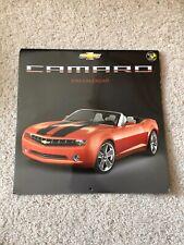Chevrolet Camaro 2013 Wall Desk Calendar