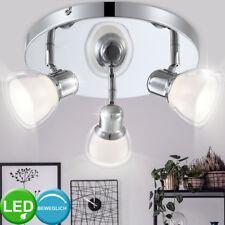 FOCO LED DISEÑO Lámpara Techo comedor cromo acrílico transparente 12 Big Luz