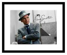 Frank Sinatra 8x10 Signed Photo Print Color RAT PACK Blue Eyes Autographed