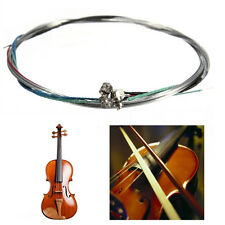 A Set of 4/4 Violin Bowstring Strings G-D-A-E Instruments Replacement