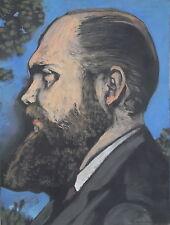 René ARTOZOUL (1927-2015) Huile sur toile, Portrait d'homme, signée