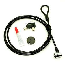 "72"" Multipurpose COMPUTER CABLE LOCK with security slot anchor adaptor."