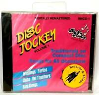 DISC JOCKEY Vol. 1 1995 Rock 'n Mania Traditionals on CD - NEW/Factory Sealed