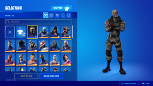 NEW FORTNlTE Acc 80+ Skins Rare Items PC/ Xbox Compatible