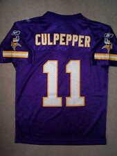 Minnesota Vikings DAUNTE CULPEPPER nfl THROWBACK Jersey YOUTH KIDS BOYS m-medium