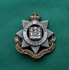More details for the 23rd county of london battalion ~ genuine british army military cap badge