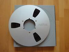 Revox Alu NAB Spule 26,5cm ¼ Zoll + Schuber Tonband Reel