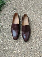Tlb Mallorca Artista 117 Brown Loafers Size 8 UK