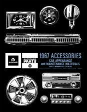 1967 Mopar Accessories Parts Catalog Chrysler Dodge Plymouth Accessory Updates