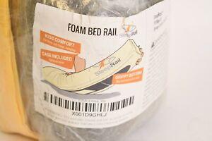 SleepRail Kids Comfort Foam Bed Rail With Grippy Bottom & Case In Sealed Pkg.