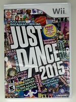 Just Dance 2015 - Nintendo Wii - Complete w/ Manual - Tested - Free Ship