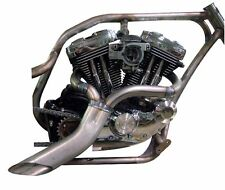 Twisted Choppers Ground Pounder 2:1 Header Exhaust Drag Pipe Harley Sportster XL