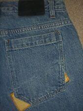 SEAN JOHN Loose Baggy Medium Blue Denim Jeans Mens Size 30 x 31.5