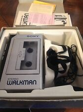Vintage Sony Walkman TPS-L2 Accessories