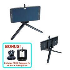 "9"" Flex Foam Tripod Foldable FREE GoPro Smartphone Adapter ABS Photo Studio Mini"
