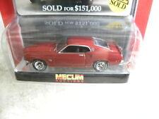 1969 FORD MUSTANG BOSS 429          2010 GREENLIGHT AUCTION BLOCK  1:64 DIE-CAST