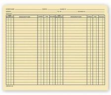 Medical Arts Press 10915 11 Pt Pre Printed File Pocket Double Column 100bx