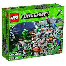 "LEGO MINECRAFT #21137 THE MOUNTAIN CAVE ""New&Sealed"" Free Shipping"