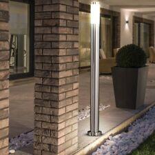 Garten LED Design Edelstahl außen Steh Lampe Stand leuchte Beleuchtung HOF weg
