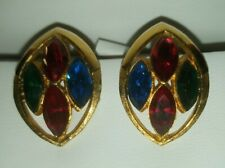 Clip On Earrings Vintage Park Lane