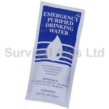 Emergency Purified Drinking Water Ration, 125ml