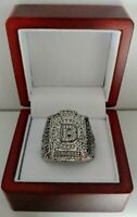 Zdeno Chara - 2011 Boston Bruins Stanley Cup Hockey Ring With Wooden Box