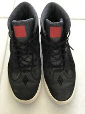 Nike Lebron X NSW Lifestyle Men's Leather Size 13 604826-001 Black