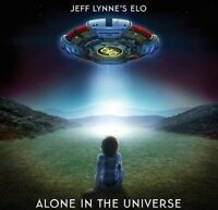 JEFF LYNNE'S ELO - ALONE IN THE UNIVERSE CD ELECTRIC LIGHT ORCHESTRA LYNNE *NEW*