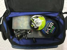 Lot Of Fishing Supplies W/ Shimano Bag Most Vintage All Unbroken 200+ Items