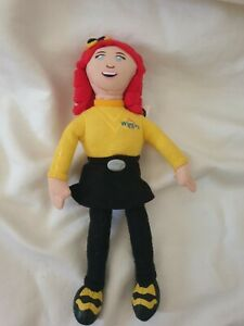 """2013 Wicked Cool Toys The Wiggles EMMA Doll Plush Buddies 8"""""""