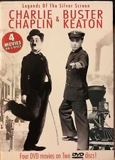 Charlie Chaplin & Buster Keaton: Legends of The Silver Screen (2 DVD's) NEW & LN