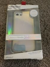 Brand New Case-Mate Naked Tough Iridescent Design Case for iPhone 7 / 6s / 6