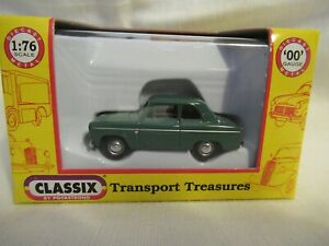 CLASSIX FORD 100E ANGLIA 2 DOOR - MID GREEN (1953-1957) SCALE 1:76 EM76867