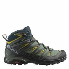 Salomon Mens Boots Mid Walking Boots Hiking Trekking Outdoor Camping Shoes