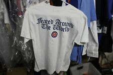 Chicago Cubs Youth T-Shirt Large MLB Licensed NWT Adidas White