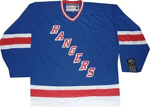 New York Rangers Throwback 7270A CCM Blue Jersey $140 New tags