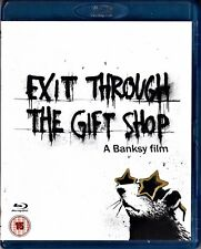 EXIT THROUGH THE GIFT SHOP de Bansky. Importación con audio en inglés. BLU-RAY